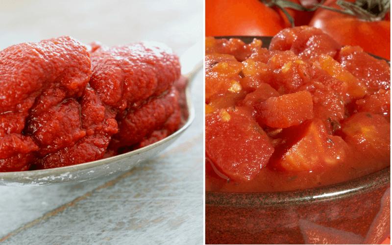 Crushed Tomatoes vs Tomato Puree
