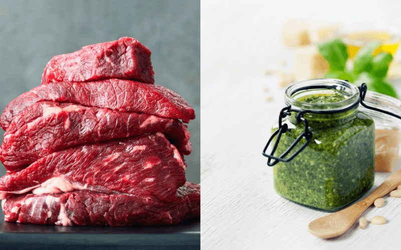 Does Pesto Go With Beef