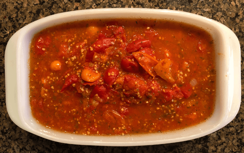 How To Thicken Stewed Tomatoes