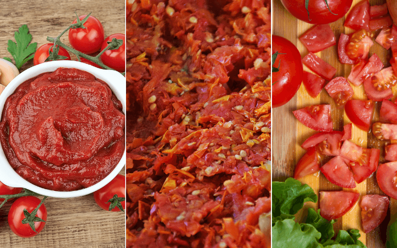 Substitutes For Crushed Tomatoes