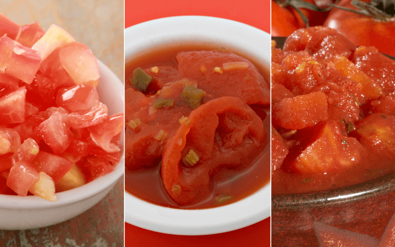 Substitutes For Stewed Tomatoes