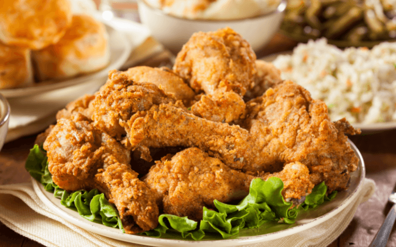 How Long Can Fried Chicken Sit Out
