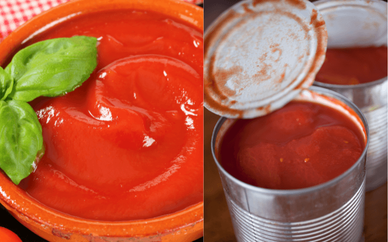 How To Make Tomato Puree From Canned Tomatoes