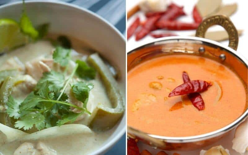 Difference Between Green Curry and Red Curry