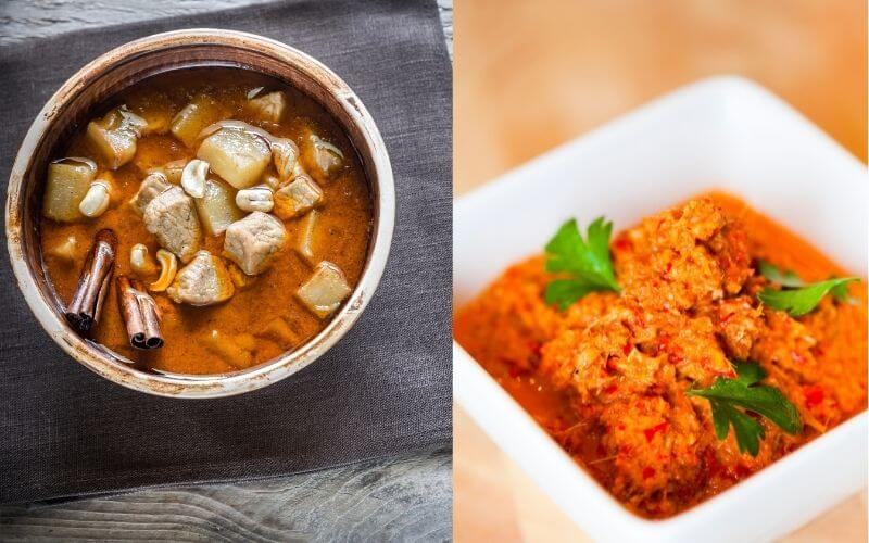 Difference Between Massaman Curry Paste and Red Curry Paste