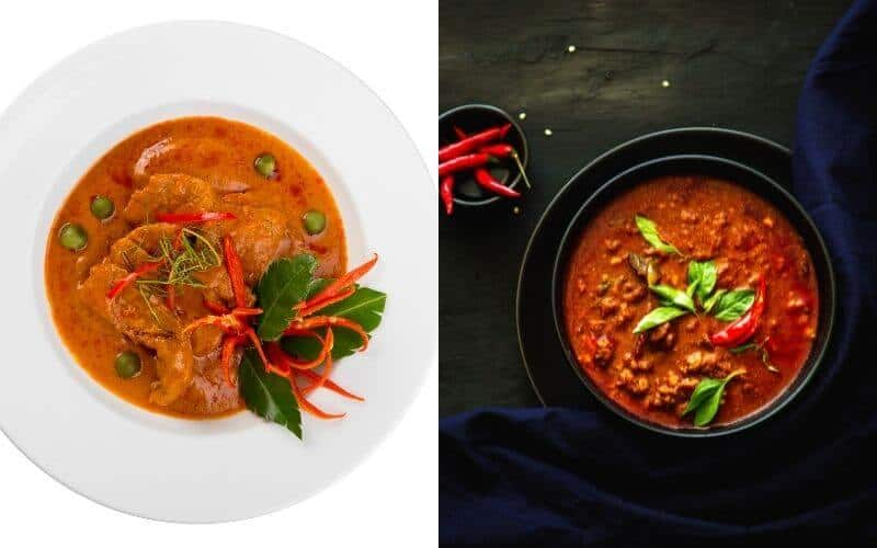 Difference Between Red Curry and Panang Curry