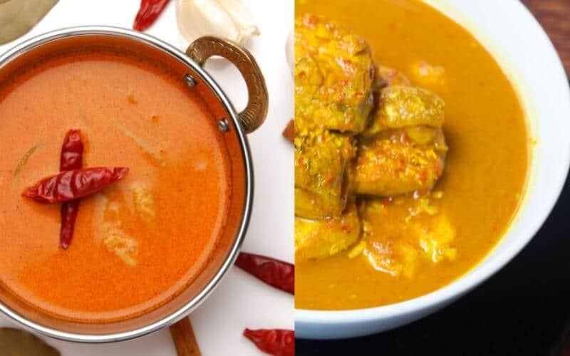 Difference Between Yellow Curry and Red Curry