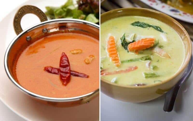 Green Curry Vs Red Curry