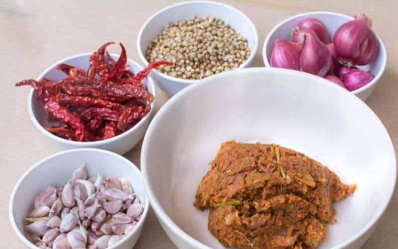 Red Curry Paste Substitutes