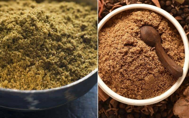 Difference Between Garam Masala And Madras Curry Powder